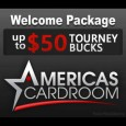 Americas Cardroom adds Tourney Bucks to Welcome Package